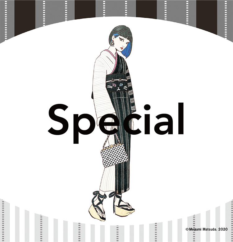 Make yukata more fun!Kimono Bancho Direct Den, Code by Scene